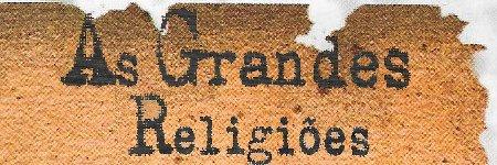 As Grandes Religiões